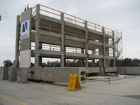 Outrigger System on Precast Concrete Institute Project