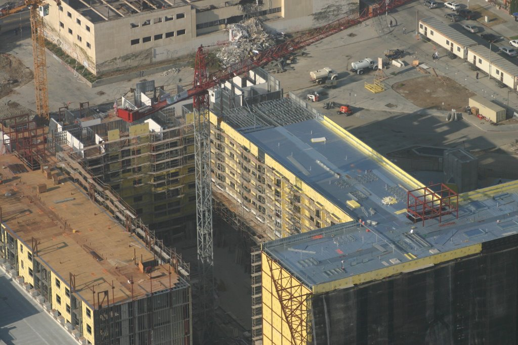 6 Story CFS Load Bearing Project Downtown Los Angeles - Wilshire Vermont