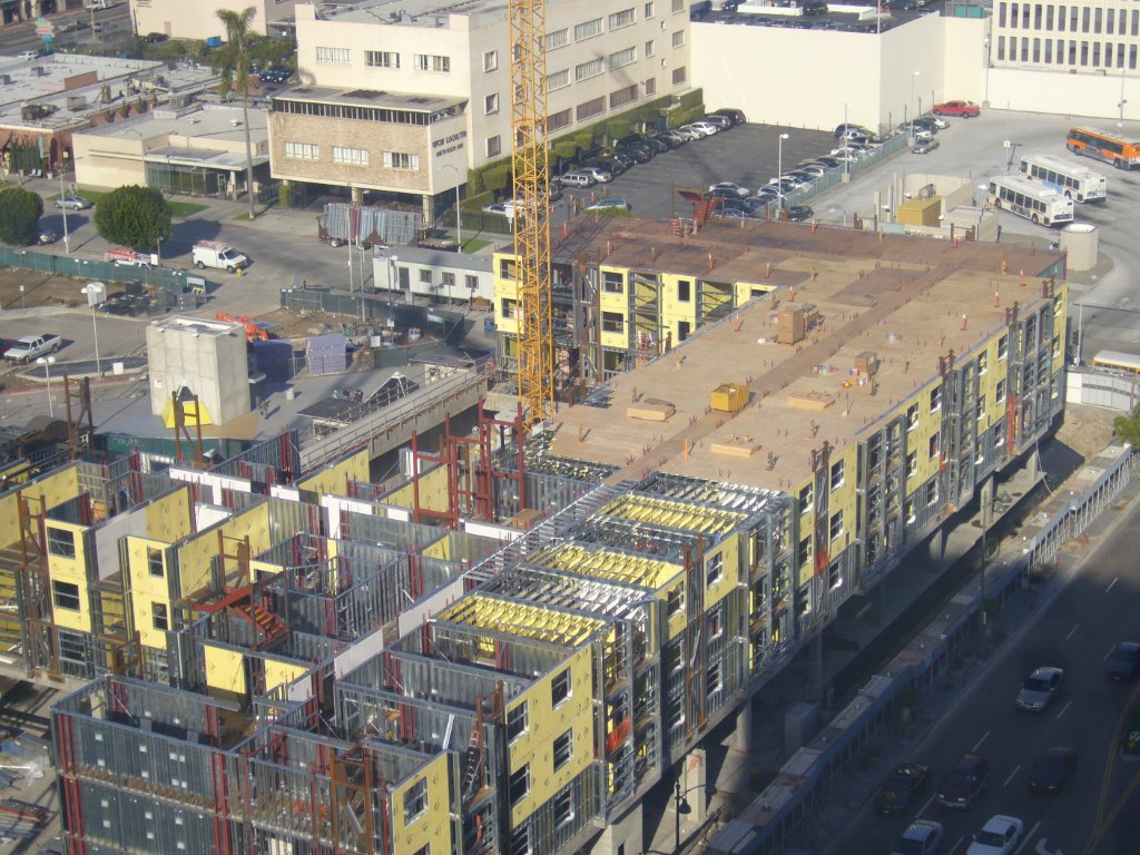 6 Story CFS Load Bearing Project – Wilshire Vermont